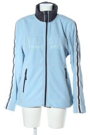 Gaastra Sportjacke blau-schwarz Schriftzug gestickt sportlicher Stil