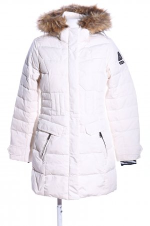 Gaastra Quilted Coat white quilting pattern casual look