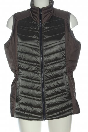 Gaastra Quilted Gilet khaki-brown quilting pattern casual look