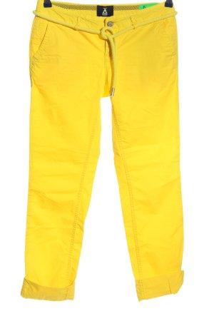 Gaastra Pantalone jersey giallo pallido stile casual