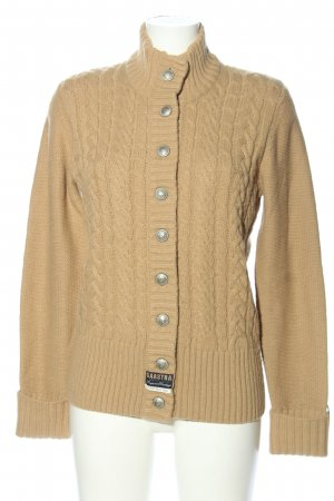 Gaastra Cardigan cream cable stitch casual look