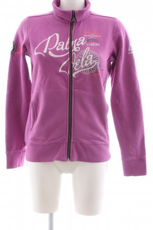 Gaastra Sweatjacke pink Motivdruck Casual-Look