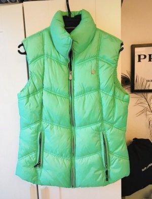 Gaastra Gewatteerd vest neon groen