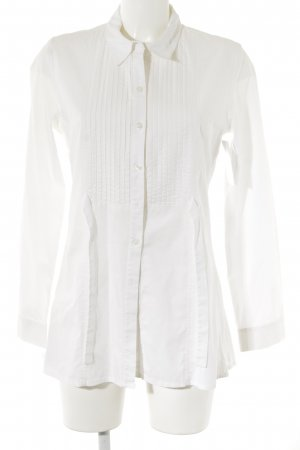 Gabi Lauton Long-Bluse weiß Elegant