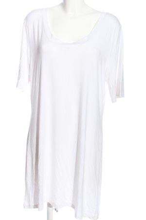 Gabi Lauton Robe t-shirt blanc style décontracté