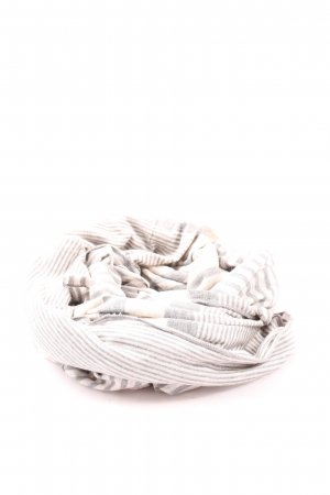 Gabi Lauton Summer Scarf light grey striped pattern casual look
