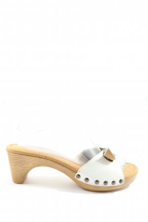 Gabor Heel Pantolettes white-natural white casual look