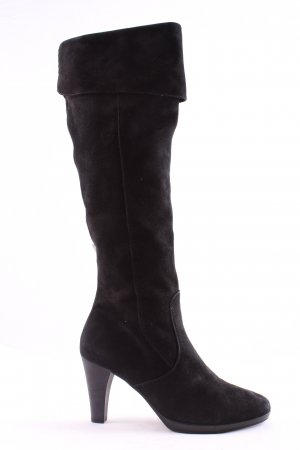 Gabor Heel Boots black business style