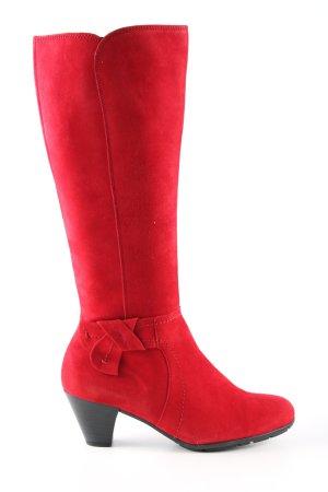 Gabor Absatz Stiefel rot Elegant
