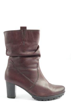 Gabor Laarzen met hak bruin zakelijke stijl