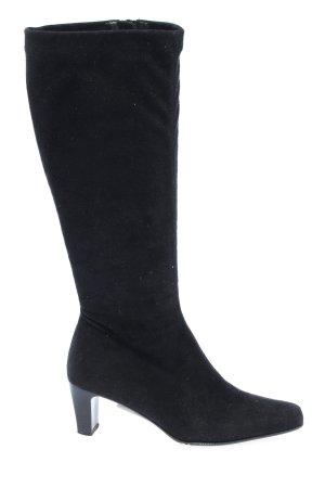 Gabor Absatz Stiefel schwarz Elegant