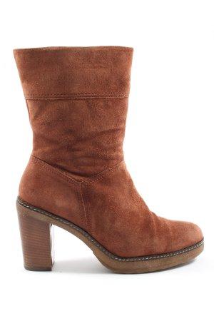 Gabor Heel Boots brown casual look