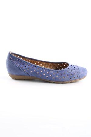 Gabor Ballerinas mit Spitze blau Casual-Look