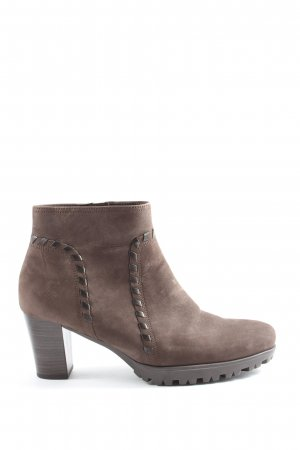 Gabor Booties braun Casual-Look