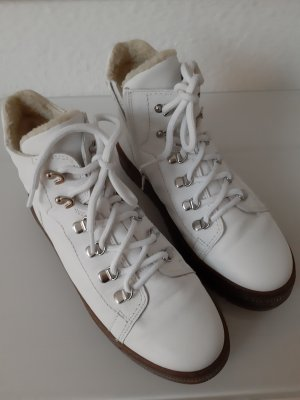 Gabor Snow Boots white leather