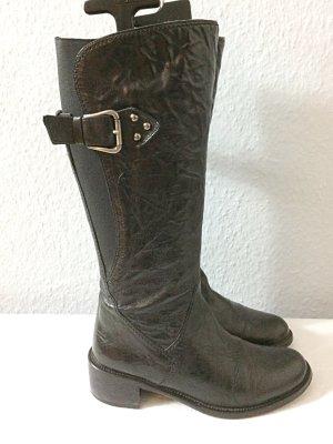 Gabor Jackboots black leather