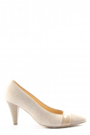 Gabor Cap Toes natural white casual look