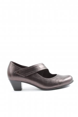 Gabor Mary Jane pumps lila casual uitstraling