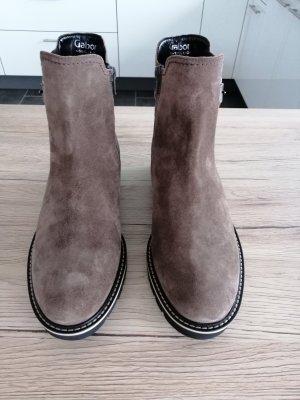 Gabor Chelsea Boot marron clair tissu mixte