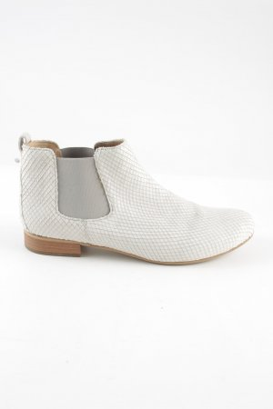 Gabor Chelsea Boots wollweiß Casual-Look