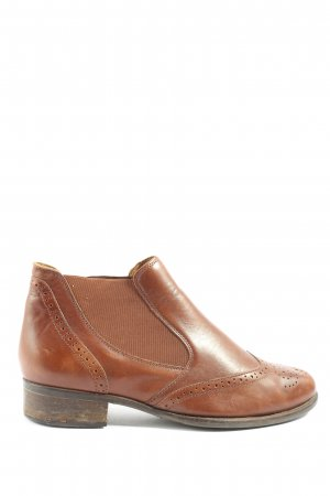 Gabor Chelsea Boots brown casual look
