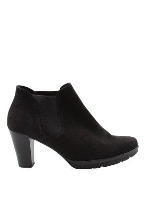 Gabor Chelsea Boots schwarz Casual-Look