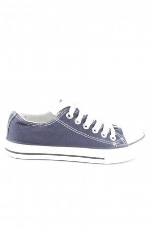 Gabor Chelsea Boots blau-weiß Casual-Look