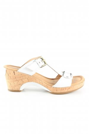 Gabor Clog Sandals white casual look