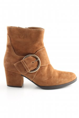 Gabor Comfort Ankle Boots braun Business-Look