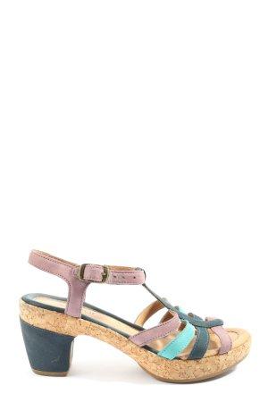 Gabor Comfort High Heel Sandaletten mehrfarbig Casual-Look