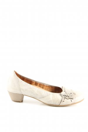 Gabor Comfort High Heels wollweiß Elegant