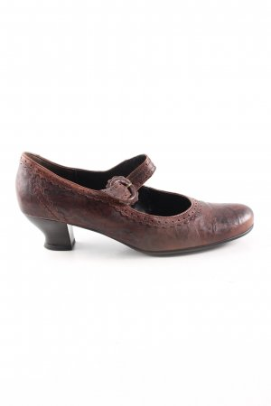Gabor Comfort Mary Jane pumps bruin casual uitstraling