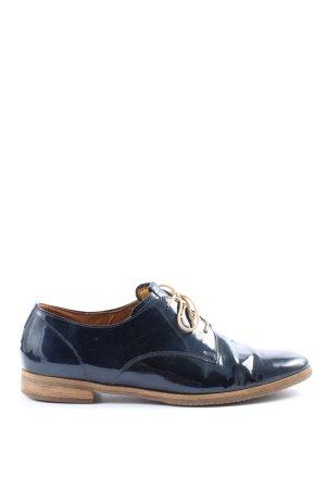 Gabor Comfort Zapatos estilo Oxford azul look casual