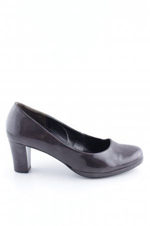 Gabor Comfort Plateau-Pumps braun Casual-Look