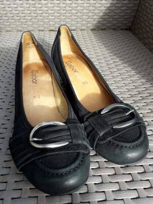 Gabor Loafers black leather