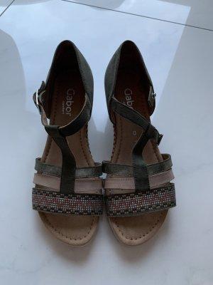 Gabor Comfortabele sandalen khaki-beige