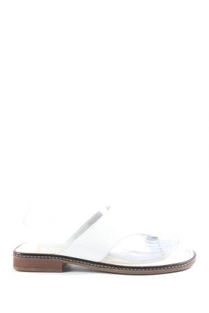 Gabor Sandalo Dianette bianco stile casual