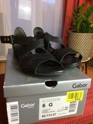 Gabor Comfort Comfort Sandals black