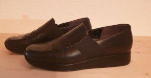 Gabor Comfort Scarpa slip-on nero Pelle