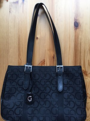 Gabor Handtasche Business- Look schwarz
