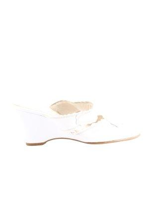 Gabor High Heel Sandaletten weiß Casual-Look
