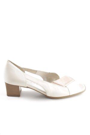 Gabor High Heel Sandaletten weiß-creme Casual-Look