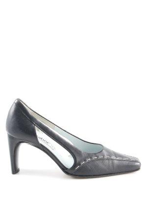 Gabor High Heel Sandaletten schwarz Business-Look