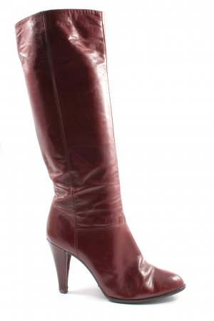 Gabor High Heel Stiefel rot Casual-Look