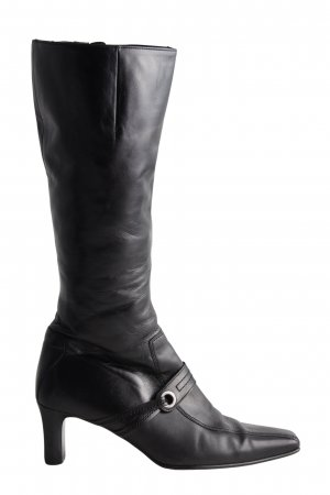 Gabor High Heel Stiefel schwarz Casual-Look