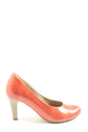 Gabor High Heels hellorange Casual-Look