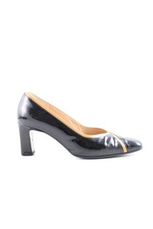 Gabor High Heels schwarz-nude Business-Look