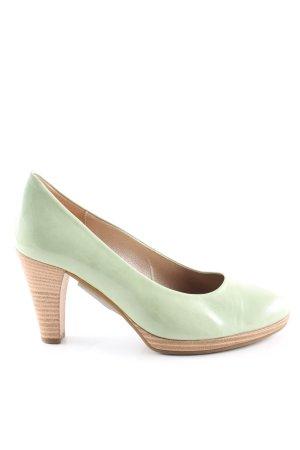 Gabor High Heels grün Casual-Look