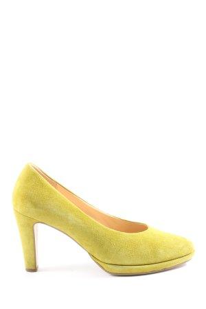 Gabor High Heels blassgelb Elegant