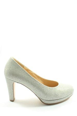 Gabor High Heels silberfarben Elegant